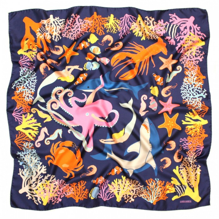 swimming-with-sharks-silk-scarf_1